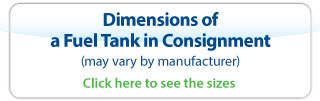 Dimensions of a Fuel Tank in Consignment