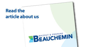 Read the article about us Mazout & Propane Beauchemin