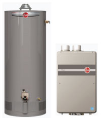 Residential and commercial water heaters